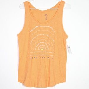GAP Easy Comfort Beach Seas the Day NWT muscle top